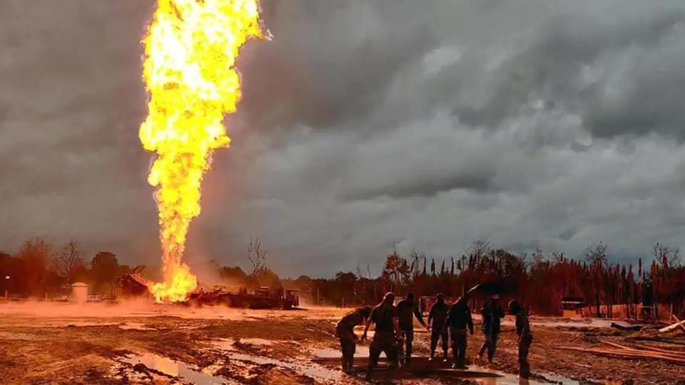New studs, fabricated at OIL's Duliajan workshop, have been transferred to the site to replace those that were damaged and deformed in the blaze, a statement released by the company on Monday said.