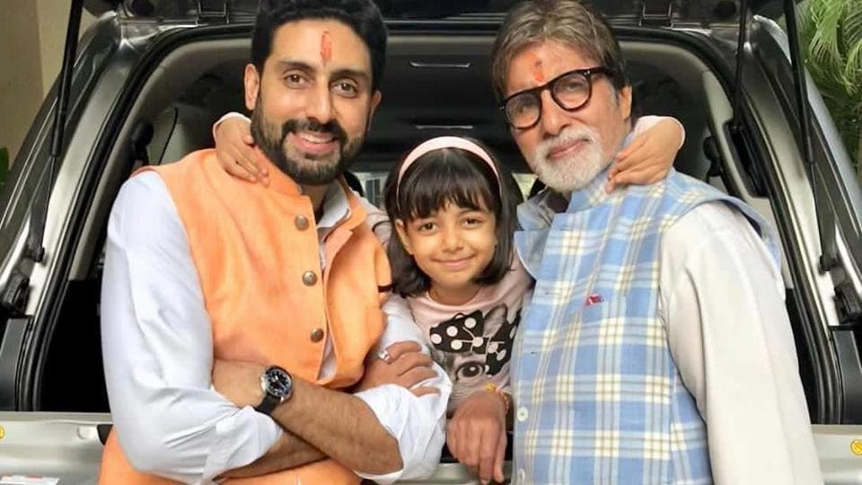 Amitabh Bachchan has expressed his thoughts on Aaradhya's words to him at the time of their parting from hospital in his blog.