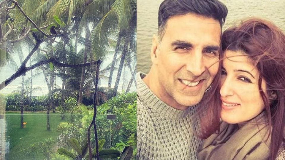 Twinkle Khanna has shared a new picture of her garden.