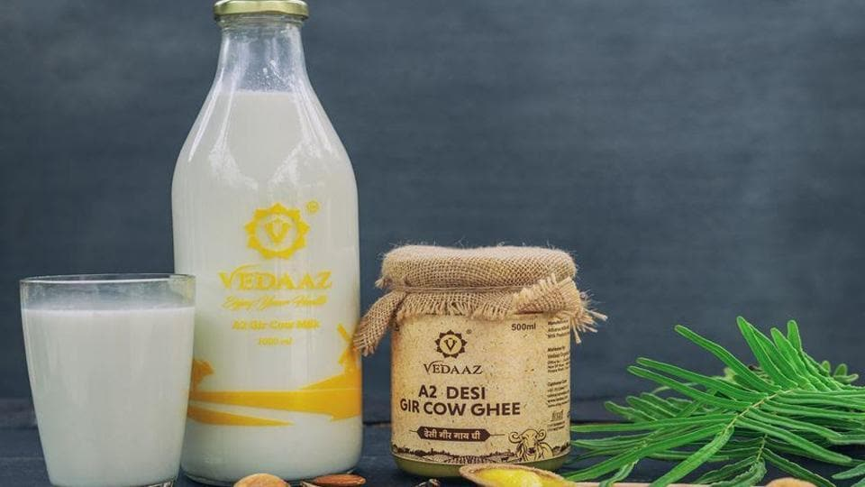 Vedaaz began in 2017 and that's when Tushar Patil, Virendra Nagarkar, and Amit Patil faced their first major challenge in educating people about the benefits of having A2 Gir cow milk.