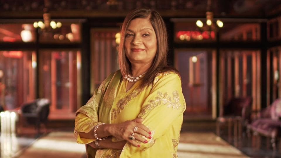 Sima Taparia in a still from Netflix's Indian Matchmaking.
