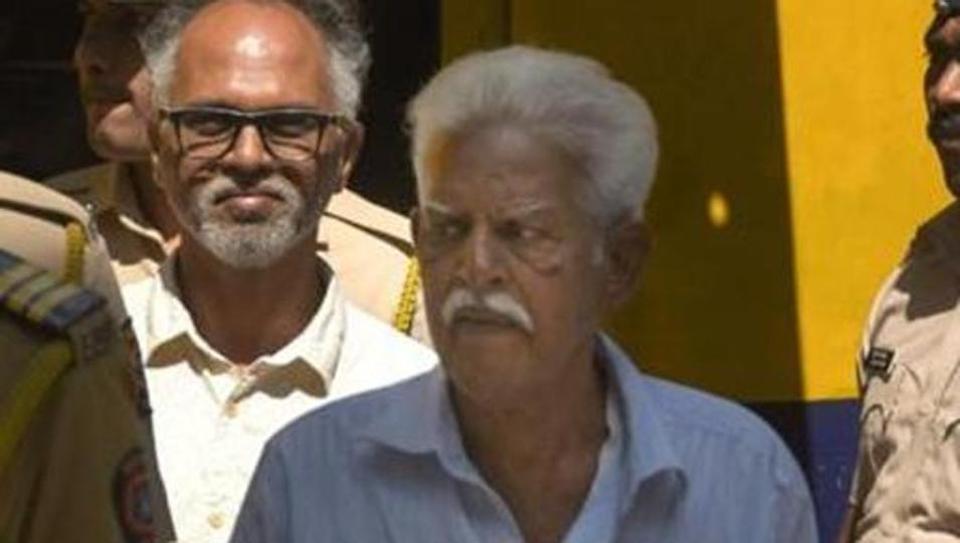 P Varavara Rao in Mumbai.