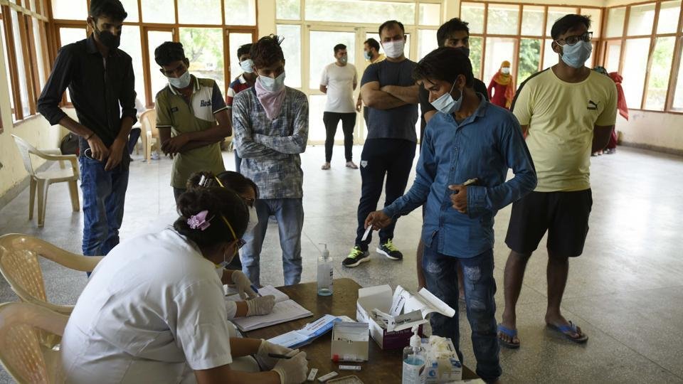 As many as 686 persons tested coronavirus positive in Jharkhand onTuesday