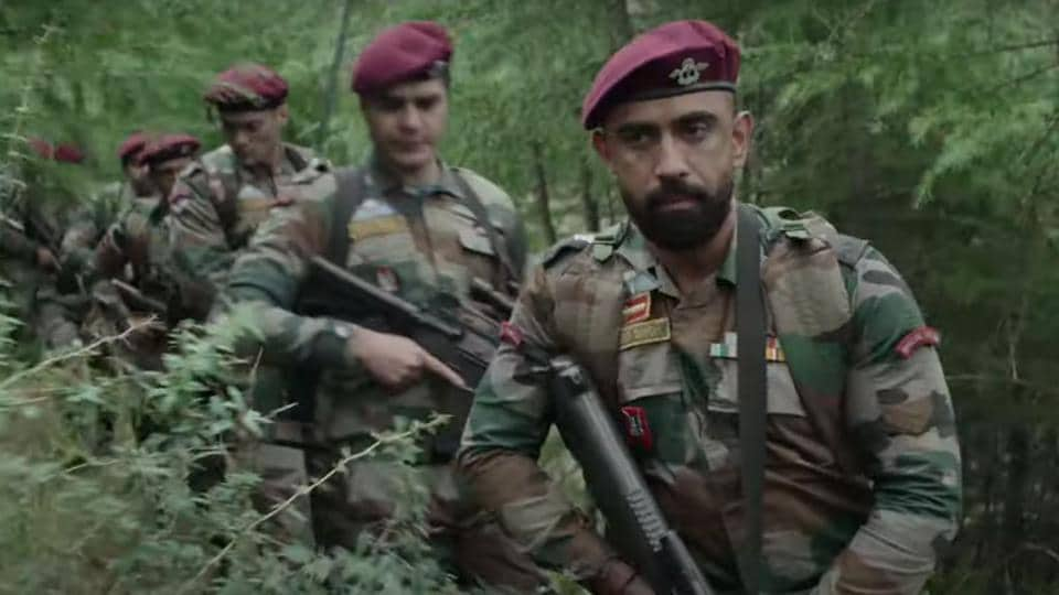 Avrodh - The Siege Within review: Amit Sadh in a still from the show.