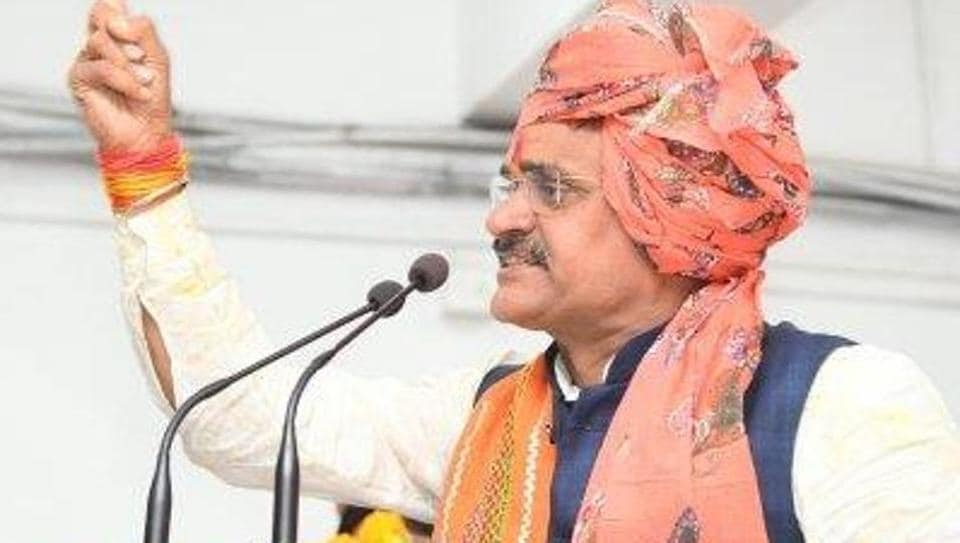 Madhya Pradesh BJP president VDSharma took to Twitter to inform people that he has tested Covid-19 positive.