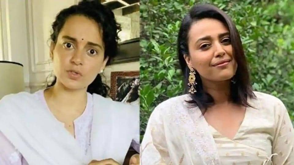 Swara Bhasker and Kangana Ranaut have been at loggerheads with each other.