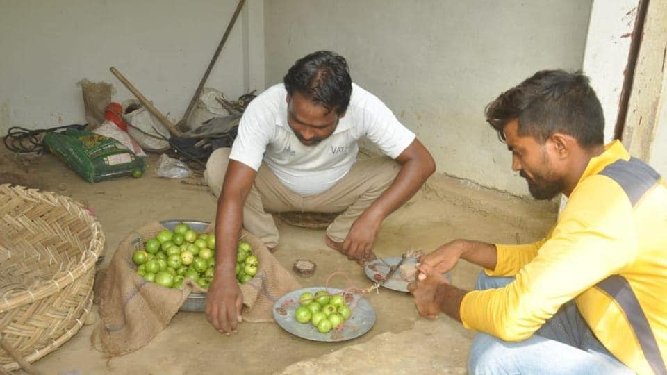 Hit by Covid, out-of-work Varanasi weavers selling fruits and vegetables