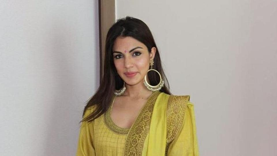 Rhea Chakraborty was booked by the Patna Police earlier this week.