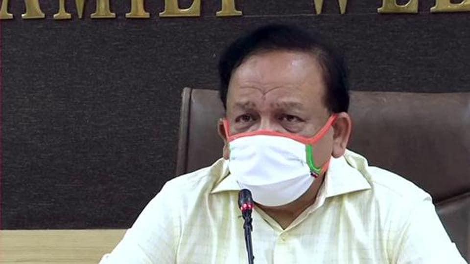 Union Minister of Health Dr Harsh Vardhan.