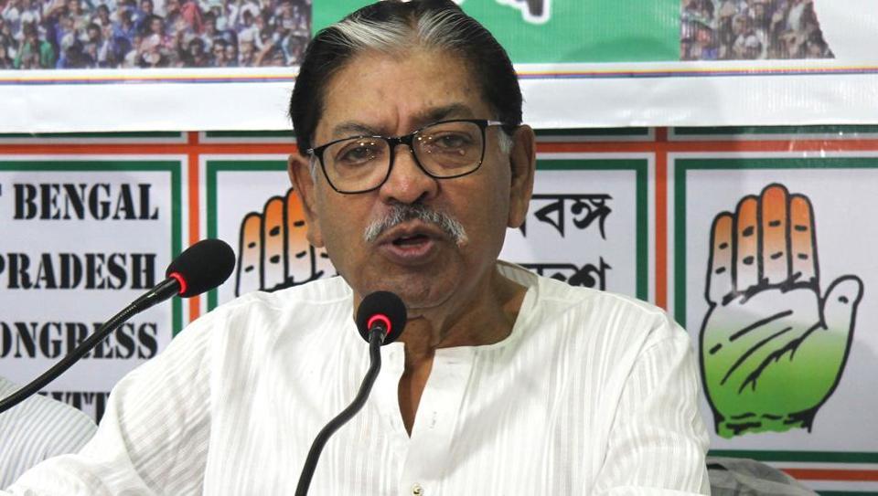 West Bengal Congress president Somen Mitra died in Kolkata on Thursday morning.