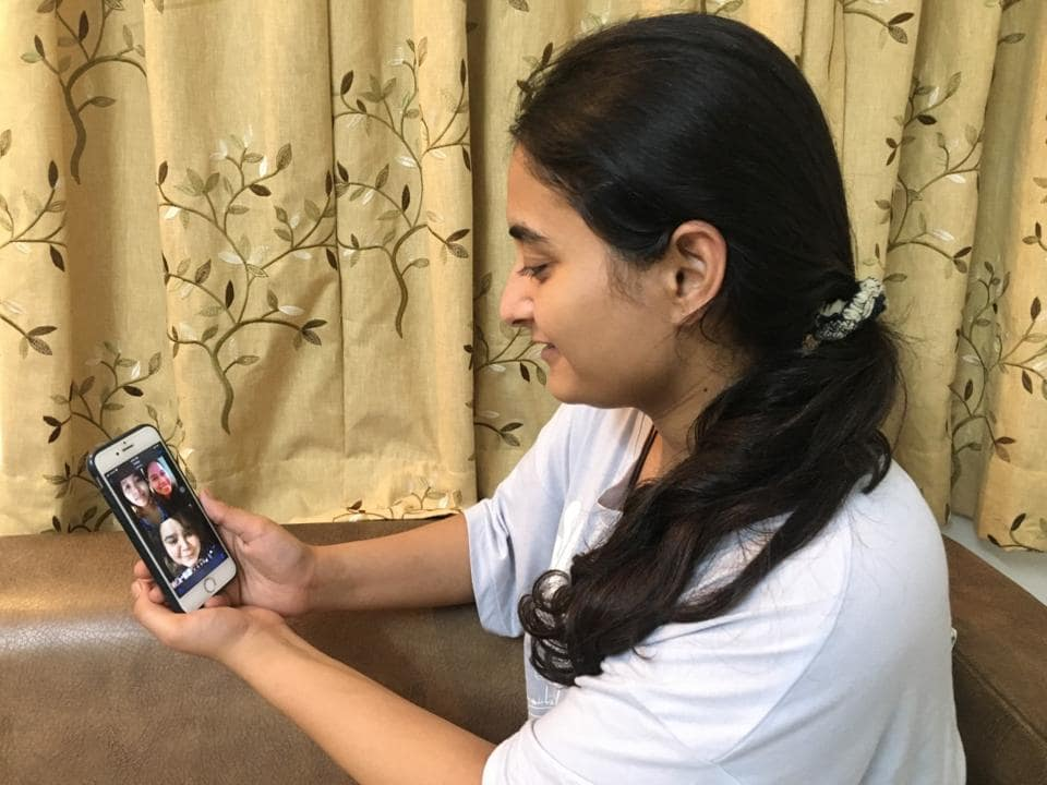 The bond of friendship has got linked via video calling amid the pandemic.