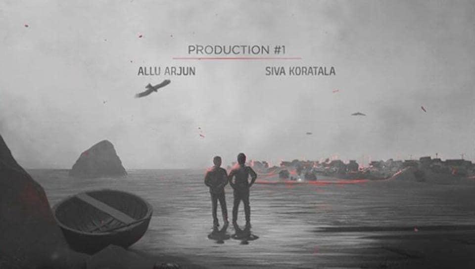 Allu Arjun made the announcement on social media.