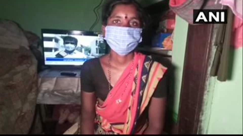 Kasturi had to  pawn her gold mangalsutra to raise Rs 20,000 to purchase a TV set so that her children could continue to study by watching education programmes telecast on government-run channel.