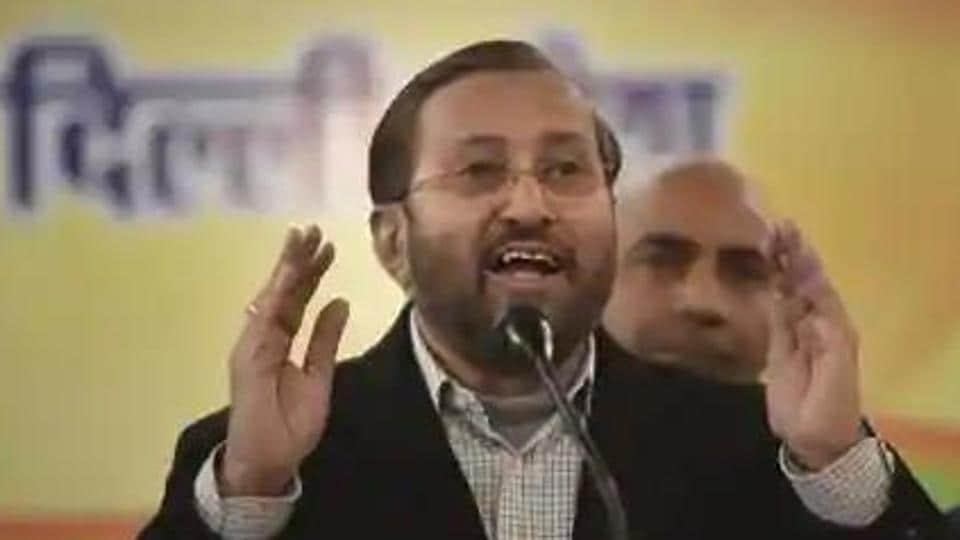 Union minister of environment, forest and climate change Prakash Javadekar.