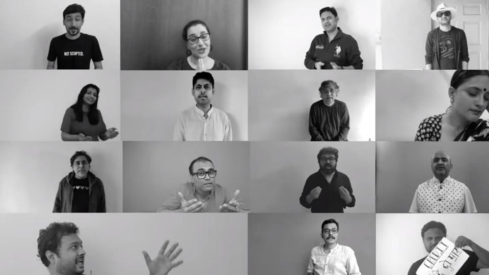 Kausar Munir, Neelesh Mishra, Varun Grover and Swanand Kirkire, among many others, team up to demand  credit for song writers.