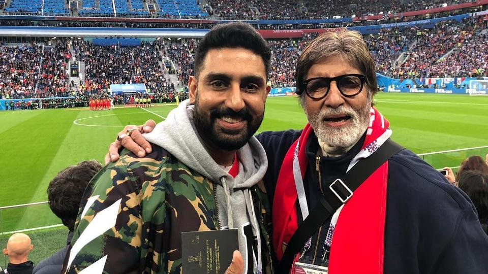 Abhishek Bachchan and Amitabh Bachchan are currently admitted at a Mumbai hospital.