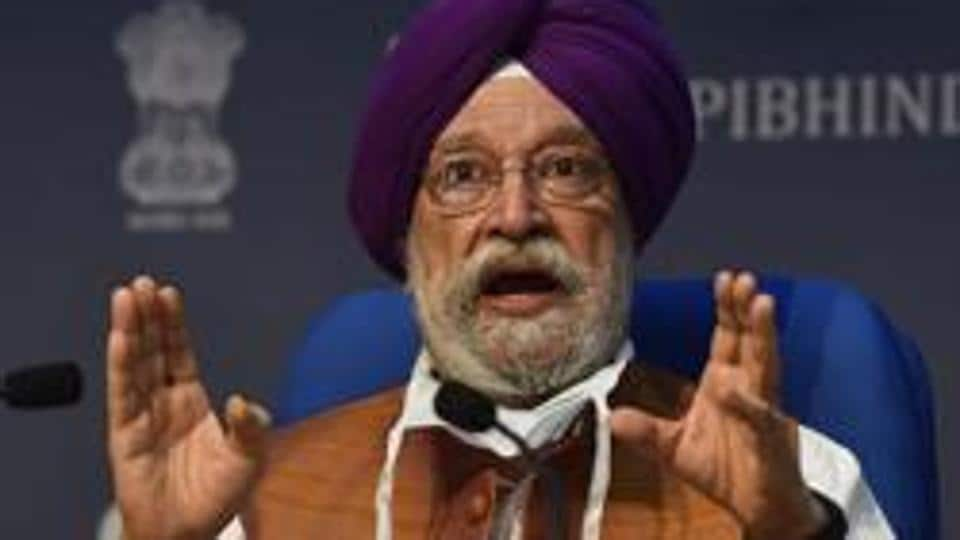 Union housing and urban affairs minister Hardeep Singh Puri launched 'CREDAI Awaas App' and NAREDCO's online portal 'HousingforAll.com' through a video conference, on  July,  2020.