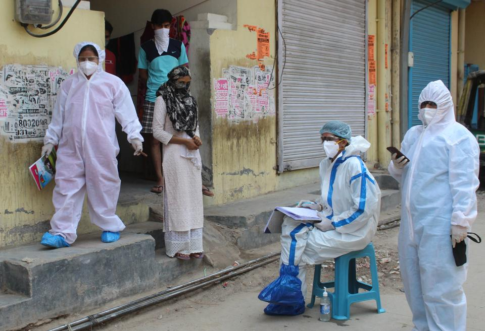 At least 38 inmates of a care home managed by the Missionaries of Charity were tested positive on Friday.