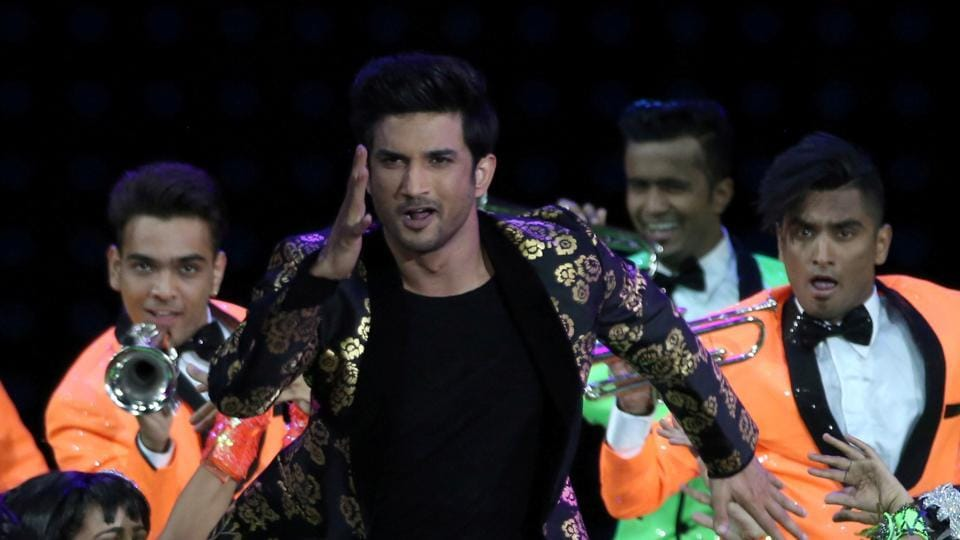 Actor Sushant Singh Rajput performs (C) at the International Indian Film Academy Awards (IIFA) show at MetLife Stadium in East Rutherford, New Jersey, US.
