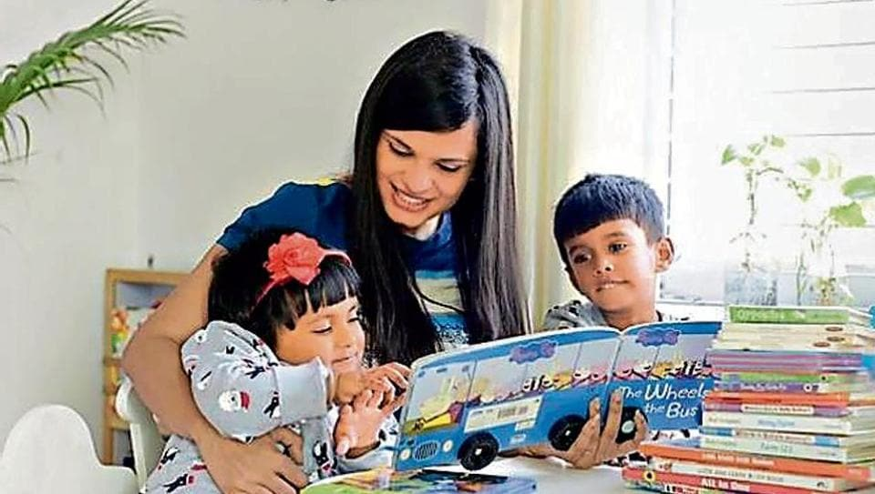 Deepali Soam runs an online parenting advice platform and helps parents figure out how to keep their children busy in lockdown.