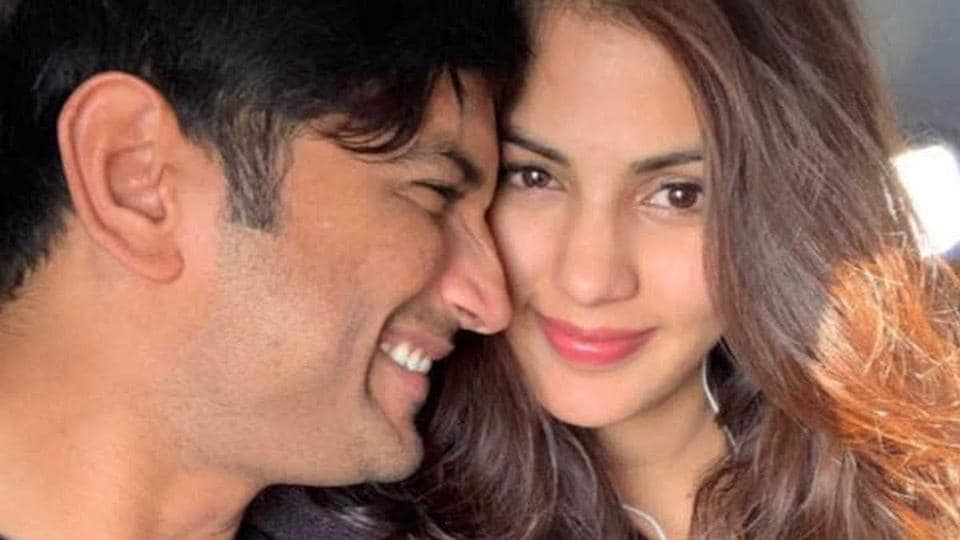 Sushant Singh Rajput and Rhea Chakraborty were in a relationship.