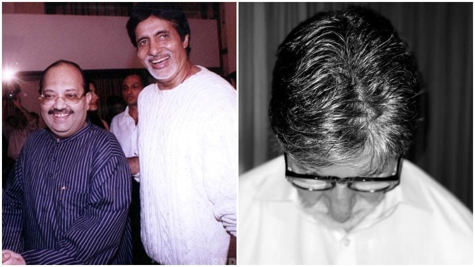 Amitabh Bachchan and Amar Singh used to be close.