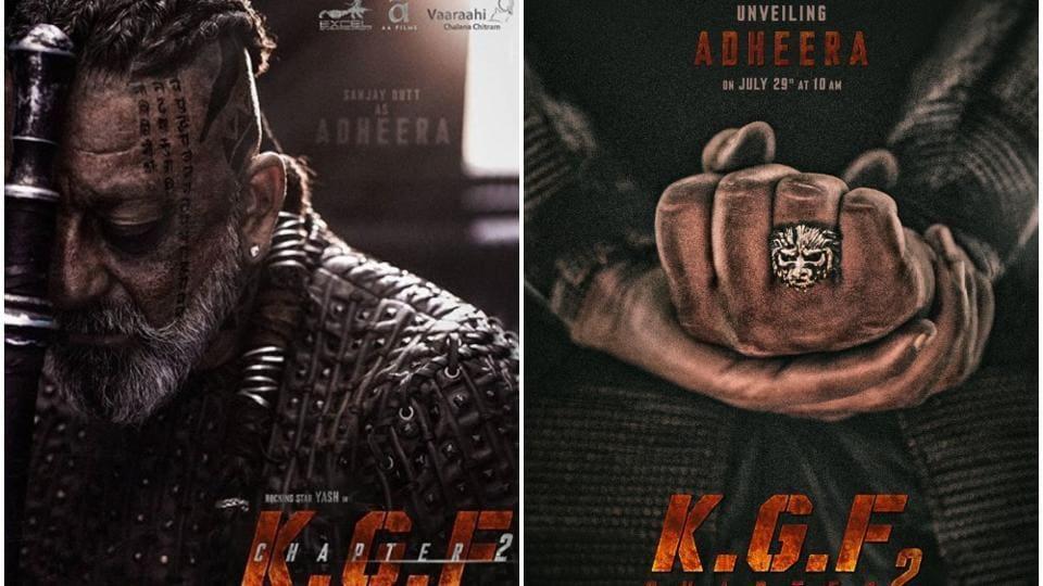 Sanjay Dutt plays Adheera in KGF 2.
