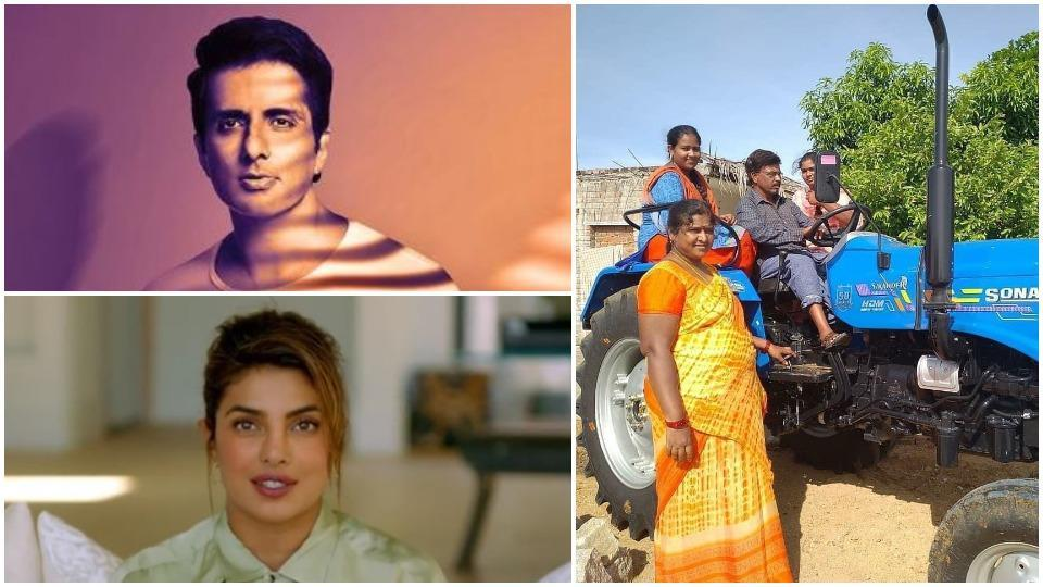 Priyanka Chopra is inspired by Sonu Sood's recent act of kindness.