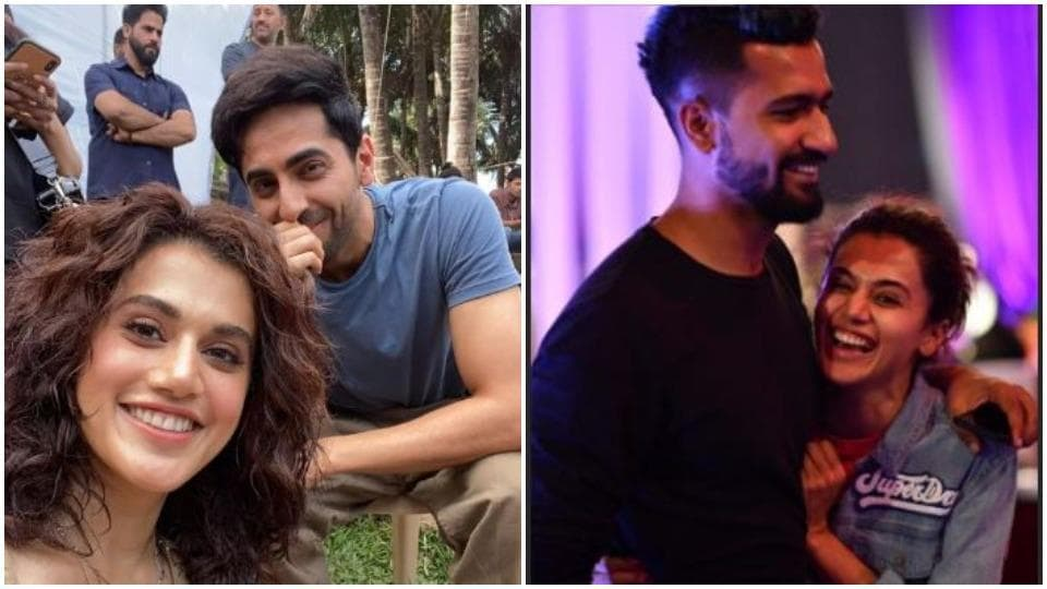 Taapsee Pannu got wishes from Ayushmann Khurrana, Vicky Kaushal and many others.