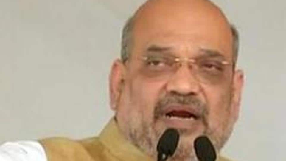 File photo: Union home minister Amit Shah.