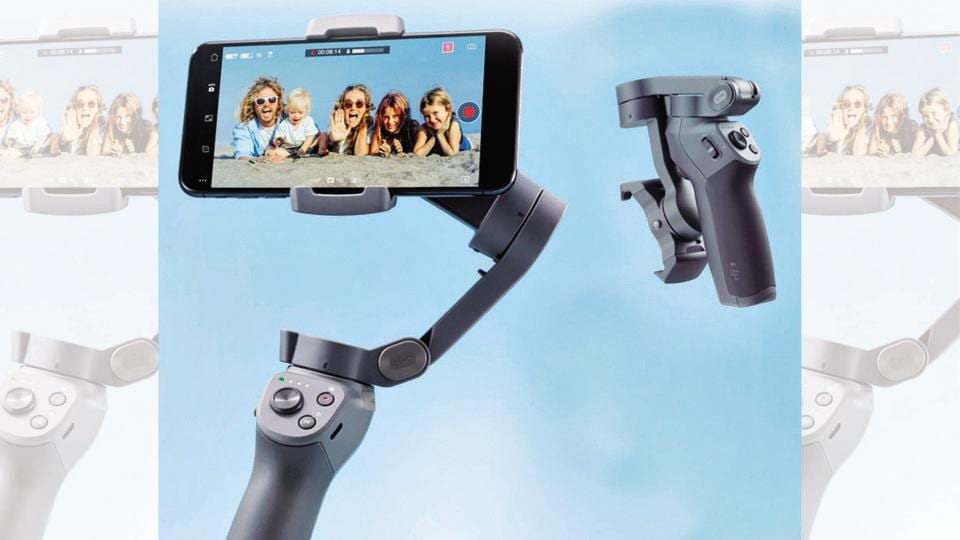 Gimbal has motors that move in the opposite direction of the shake, thus countering it