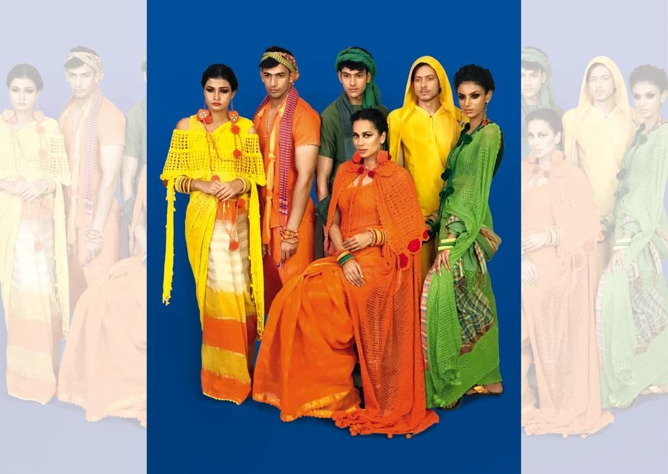Even today there are almost 18 different styles of sari-draping still in use all over India