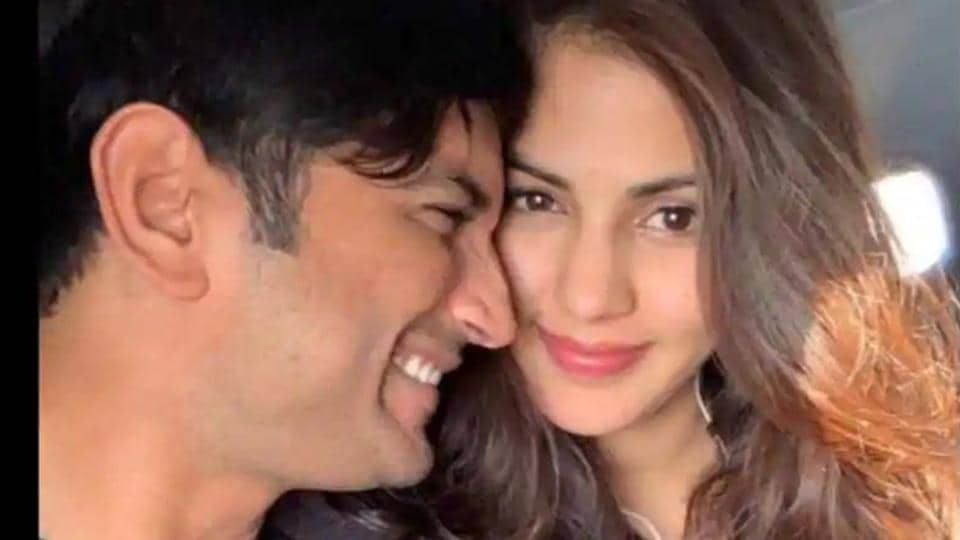 Rhea Chakraborty and Sushant Singh Rajput were in a relationship for some time.