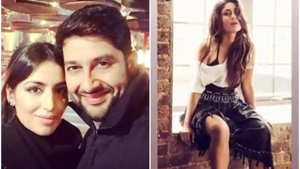 Aftab Shivdasani and wife Nin Dusanj welcomed  baby girl while Kareena Kapoor shared a throwback pic on Instagram.