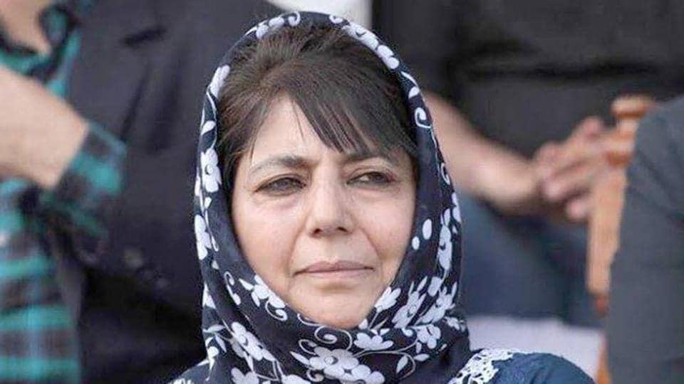 The Jammu and Kashmir administration has extended the detention of former chief minister Mehbooba Mufti by three months. (Photo@jkpdp)
