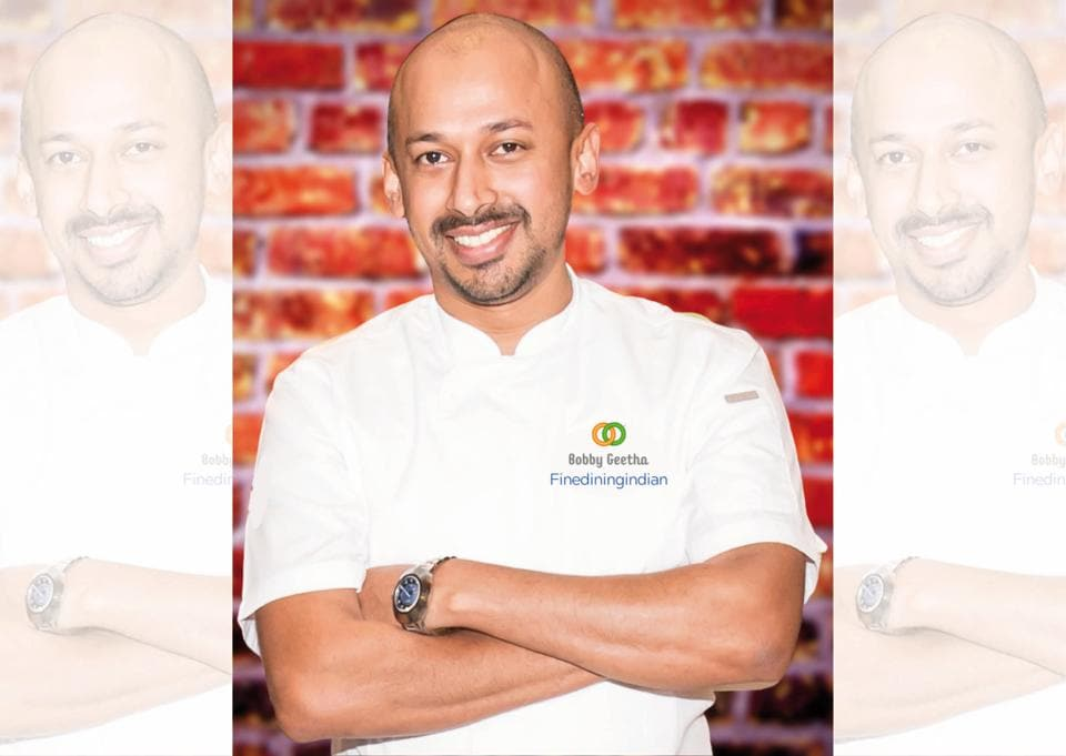 Bobby Geetha, a London-based chef has trained and worked at Michelin-star establishments like Noma, Raymond Blanc and Heston Blumenthal