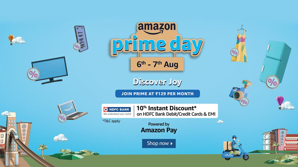 From branded clothing, electronics, home appliances, Prime Day will cover it all and more, all for your shopping convenience.