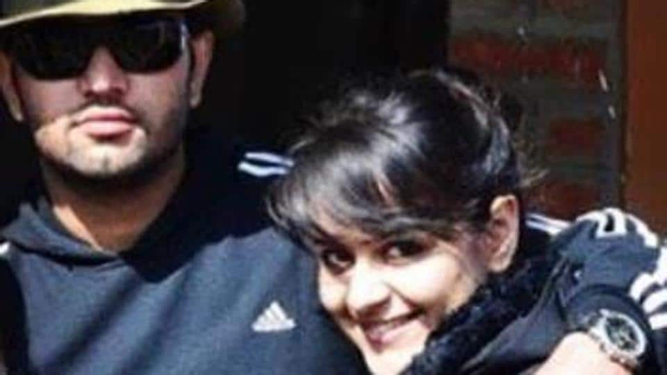 Prachi Tehlan with fiancee Rohit Saroha in this pic that she shared last week, revealing that this one is from 2012.