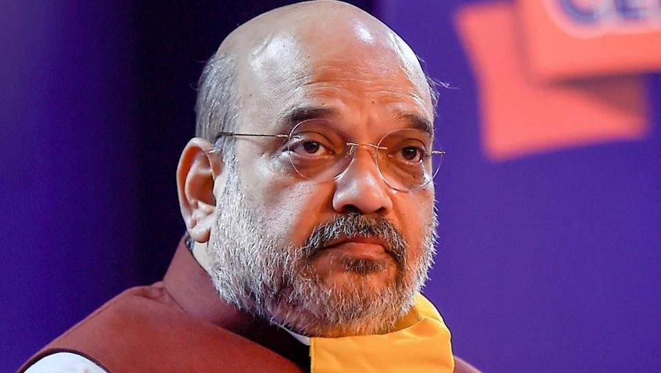 File image of Union Home Minister Amit Shah who has been hospitalised after testing positive for Covid-19.