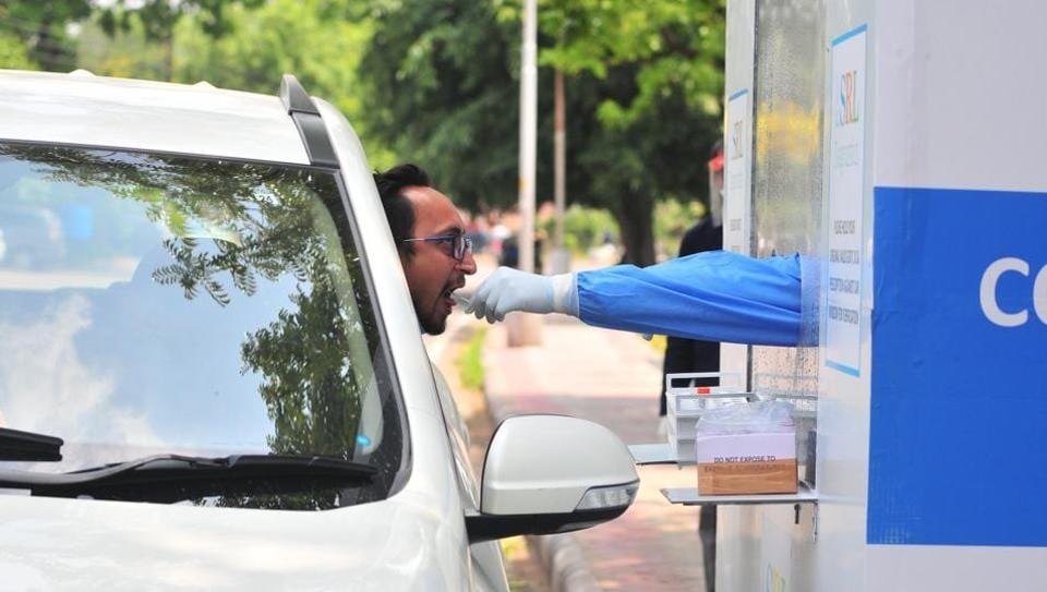 While two deaths were reported from Mohali, one was from Chandigarh, a day after the tricity added four fatalities to its tally. Now, the toll stands at 38 and case fatality rate at 1.4%.