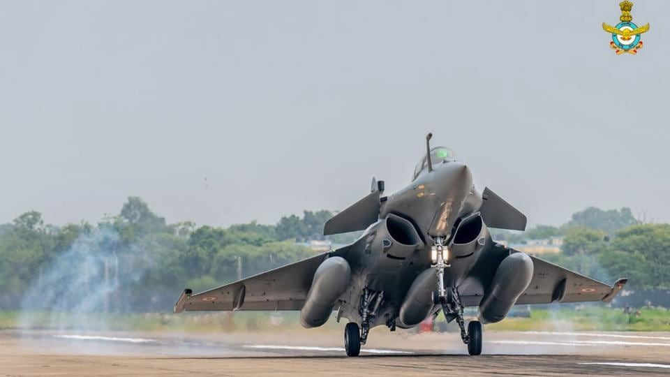 The first five Rafale combat aircraft from France arrived at the Air Force Station, in Ambala, on July 29, 2020.