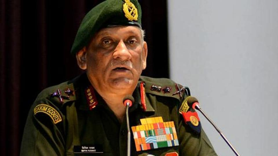 Army Chief General Bipin Rawat addressing at Officers Training Academy