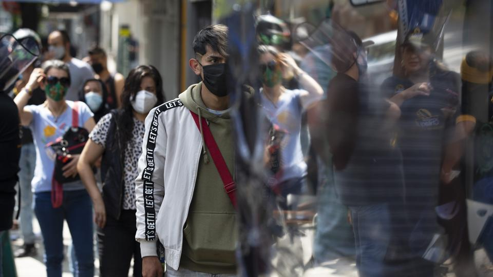 Mexico has imposed a very lax and partial lockdown of economic activity that has not stopped high levels of contagion, but has strangled the economy.