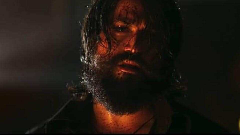 A still from KGF Chapter 2.