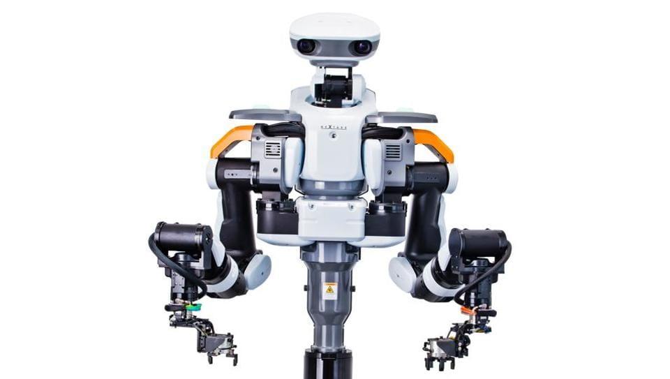 Nextage is a next-generation Japanese industrial robot, designed by Kawada Robotics.