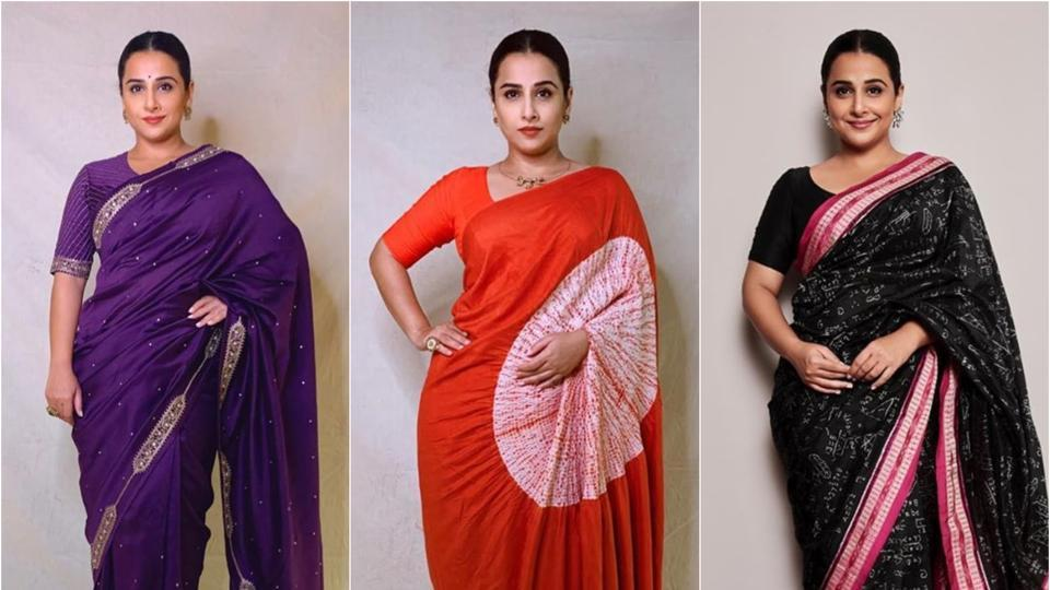 Vidya Balan rocks the traditional look.