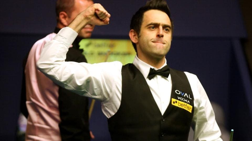 Ronnie O'Sullivan will play Ding Junhui of China in the second round.