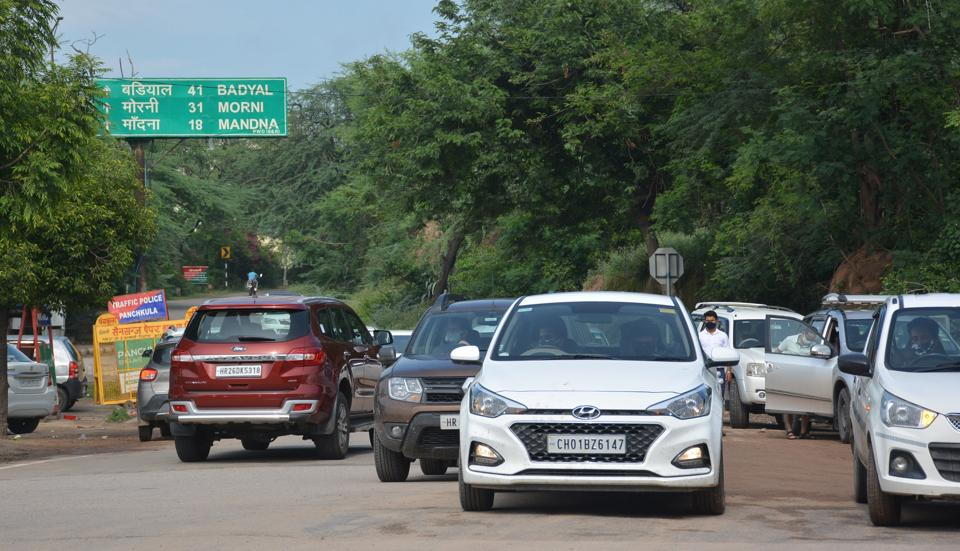 Vehicle movement restricted in Morni on weekends, holidays