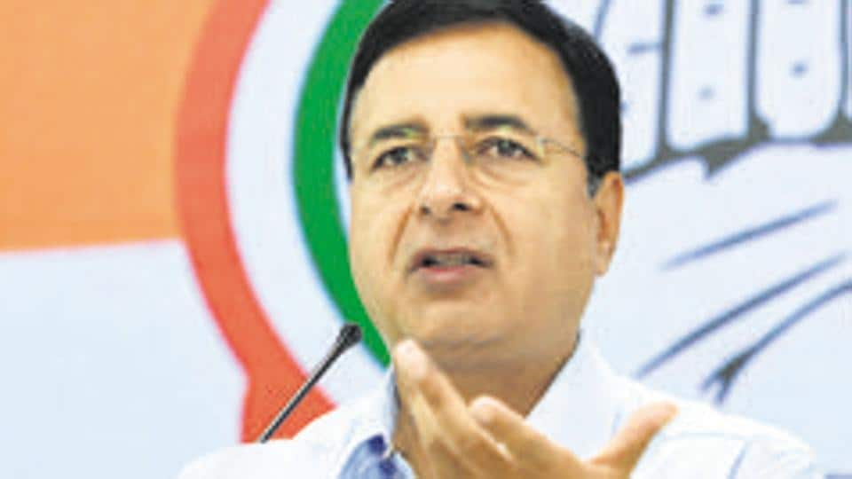 The party's media department head Randeep Singh Surjewala was asked by the top leadership to rush to Delhi from a trip to Jaisalmer in Rajasthan and address a news conference to ask the warring leaders to refrain from  escalating the matter