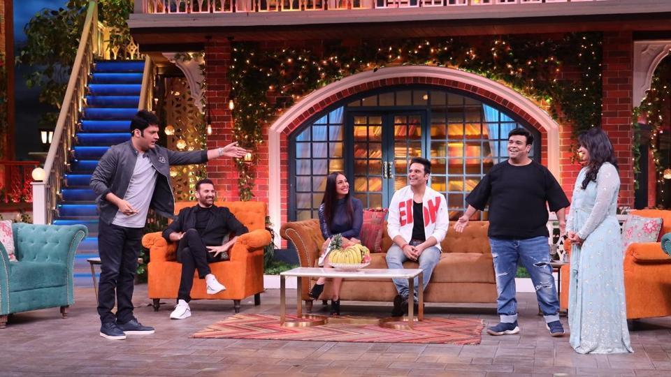 Parmeet Sethi, Kashmera Shah join Krushna Abhishek and Kapil Sharma on their show.